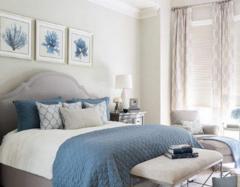 主卧室墙漆适合什么颜色 2018卧室看不厌的流行墙漆颜色