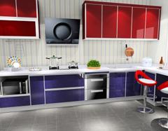 现代简约风格厨房怎样装修好   厨房装修注意事项