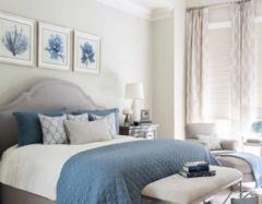卧室适合什么颜色墙漆 卧室看不厌的墙漆颜色推荐