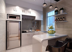 小厨房如何装修更显大 小厨房装修技巧