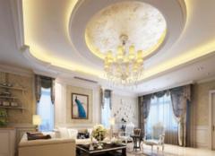 客厅吊顶什么风格好 客厅吊顶简约风格效果