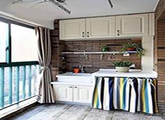 生活阳台怎么设计柜子 阳台有窗户怎么做柜子