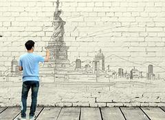 怎样画出适合画在墙上的手绘画 墙上绘画用什么颜料
