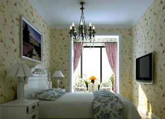 碎花壁纸配什么窗帘好看 碎花壁纸和窗帘搭配技巧