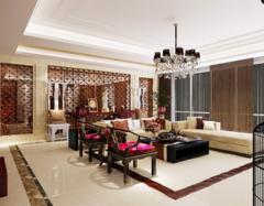 中式客厅怎样选择配饰摆件   客厅装修的注意事项