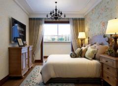 碎花壁纸搭配什么窗帘好 卧室绿色壁纸搭配窗帘技巧