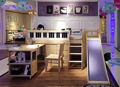儿童床带滑梯好吗 带滑梯儿童床价格