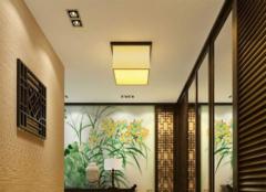 玄关吊顶一般用什么材质 玄关吊顶怎么设计