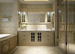 浴室柜pvc还是实木好 pvc浴室柜防水吗