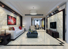 客厅贴瓷砖好还是壁纸好 客厅瓷砖尺寸一般多大
