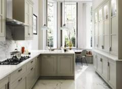 橱柜门什么颜色好看 厨房橱柜门颜色搭配