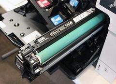 惠普家用一体式墨盒安装 分体式墨盒的安装与更换