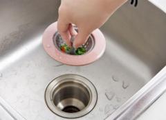 厨房水槽堵住了怎么办 厨房水池堵了用小苏打
