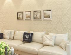 客厅墙纸什么颜色大气 现在客厅流行什么墙纸
