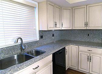 橱柜台面用大理石好还是石英石好 厨房台面石英石价格