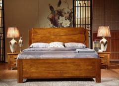 实木床选什么木头材质好 1米8的实木床多少钱