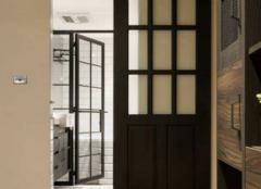卫生间用折叠门还是谷仓门 卫生间谷仓门优缺点