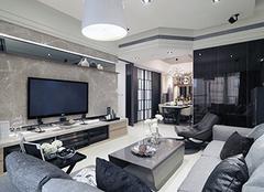 客厅电视背景墙尺寸 电视背景墙什么颜色风水好