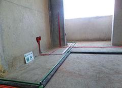 100平米水电安装费用 装修是水走天电走地吗