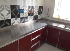 不锈钢台面的优缺点 不锈钢橱柜多少钱一米