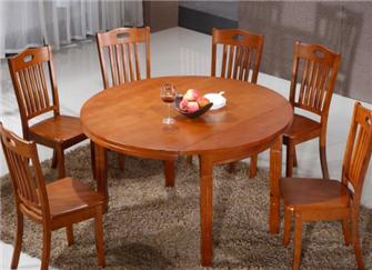 橡木餐桌好吗 橡木餐桌6把椅子价格