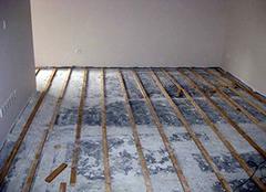 实木地板可以不打龙骨吗 实木地板龙骨间距