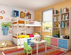 女儿童房间怎么装饰 儿童房很小怎么装修