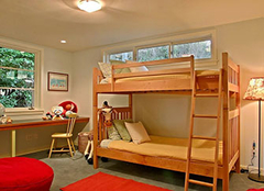 一儿一女的儿童房装修 一儿一女儿童房隔断