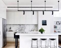 厨房与客厅一体的设计 厨房间装修一般多少钱