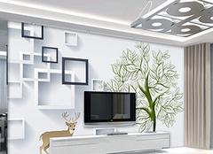 电视背景墙什么材质好 电视背景墙刷什么颜色好看