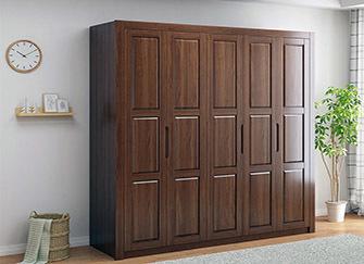 实木衣柜哪种木材好 实木衣柜定做价格