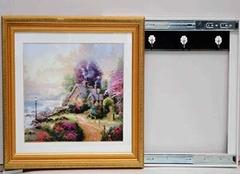 电表箱适合挂什么画 电表箱挂画安装方法