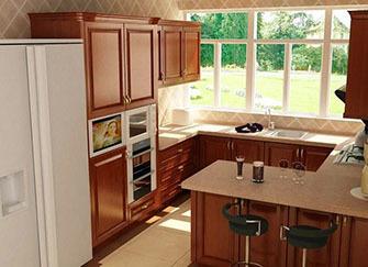 厨房橱柜门的种类 厨房橱柜门的颜色