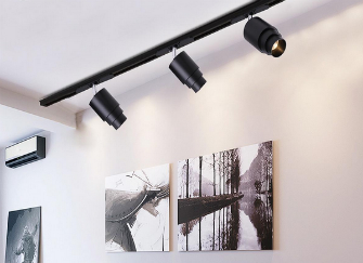 家装轨道灯什么品牌好 家用轨道灯距离墙面多远