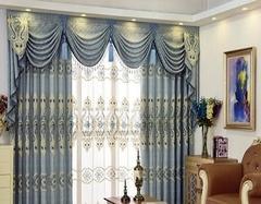 欧式装修选什么窗帘 欧式装修窗帘颜色搭配