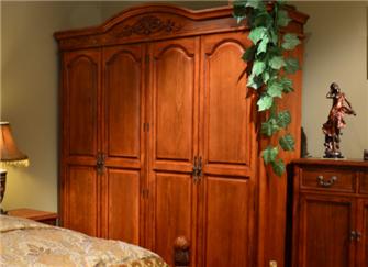实木衣柜价格表 实木衣柜组装步骤图解