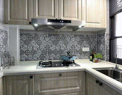 厨房墙砖禁忌什么颜色 厨房墙地一体砖效果图