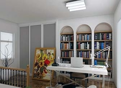 书房墙面用什么颜色好 孩子书房适合装什么灯
