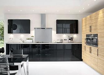 烤漆橱柜的优缺点 吸塑和烤漆的区别