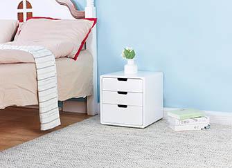 卧室放一个床头柜好吗 床头柜只能放一个咋办