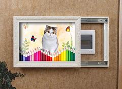 电表箱挂画有讲究吗 电表箱装饰画安装方法