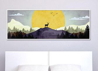 卧室挂画挂哪最好 卧室挂画的风水禁忌