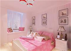 女孩卧室装修风格 女孩装修卧室墙壁颜色