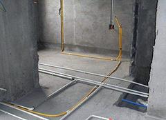 100平米水电安装人工费 水电包工不包料价格表