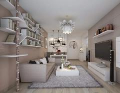 家装90平米房子多少钱 3一4万全包90平简装效果图