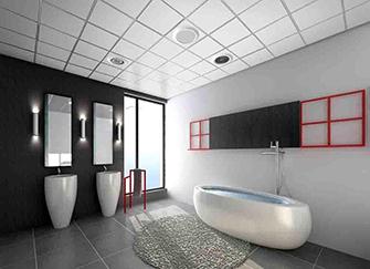 浴室吊�用什麽材�料 浴室吊�用石膏板好��
