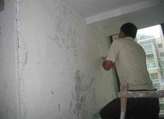 乳胶漆墙面一蹭就有灰 去除墙白灰小秘诀