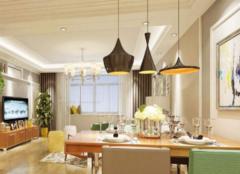餐厅吊灯安装位置 餐厅吊灯多高合适
