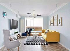 客厅乳胶漆刷什么颜色 客厅刷的乳胶漆颜色深了怎么办