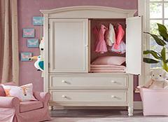 儿童衣柜品牌排行榜 儿童衣柜尺寸一般多大